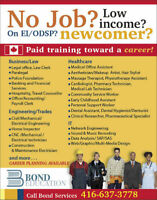 $$ Gov't funded Paid Training towards a career $$