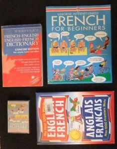 French for beginners -  2 dictionaries
