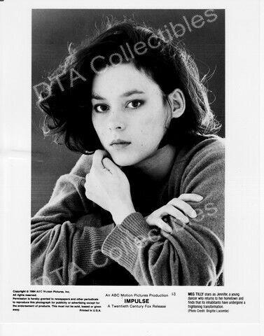 """IMPULSE-1984-MEG TILLY-BLACK & WHITE-8""""x10"""" STILL FN"""