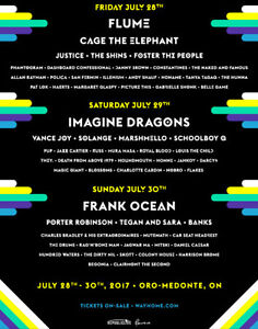 WAYHOME 3-DAY $120 / SINGLE DAY $70 - FRIDAY, SATURDAY, SUNDAY