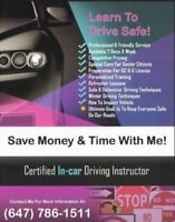 $10 OFF EACH LESSON---SPECIAL----Driving School, Driving Lessons
