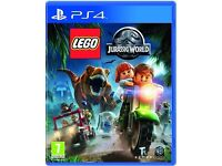 PS4 Lego - Jurassic World game in As-New condition
