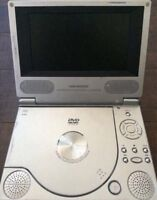 2 portable DVD players