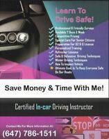 SPECIAL DEAL ONLY FOR NEW STUDENTS-----Driving school, lessons