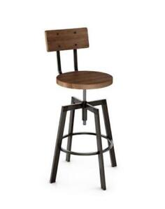 KITCHEN STOOLS COUNTER HEIGHT STOOLS  with BACK, CUSTOM MADE