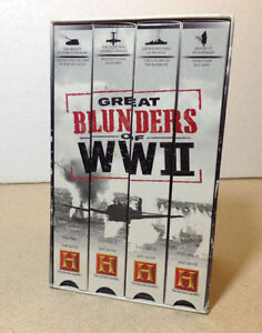 The History Channel's Great Blunders of WW II VHS Cambridge Kitchener Area image 2