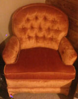 Swivel rocking chair for sale