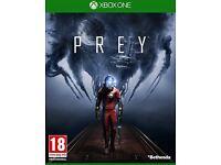 Prey (2017) (No DLC) XBOX ONE. BOXED LIKE NEW