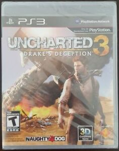 PS3 Games: Little Big Planet, UFC 2009 & Uncharted 1 & 3