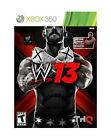 Microsoft Xbox 360 WWE '13 Video Games