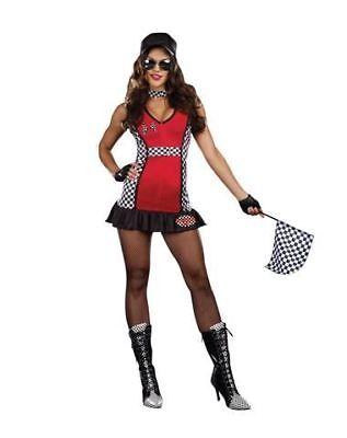 Racing Kostüm Rev my Engine für Damen Größe S Karneval Halloween Fasching