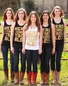 Custom tshirts for Bachelorette Party, Tank Tops & More