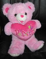 Pink Stuffed Teddy Bear