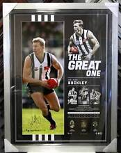 'THE GREAT ONE' – NATHAN BUCKLEY SIGNED LITHOGRAPH LTD ED AFL COA Bayswater Bayswater Area Preview