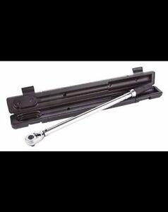MAXIMUM Drive Torque Wrench, SAE/Metric, 1/2-in