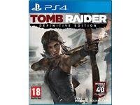 Tomb Raider Definitive Edition PS4 - Excellent Present