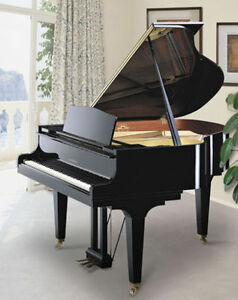 "Piano a queue 5'5"" Kawai Ge-30 noir, tres peu utilise"