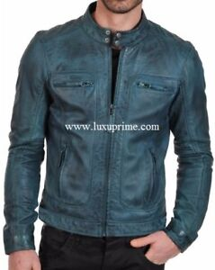 Luxuprime brand Genuine Leather Jackets for men and women