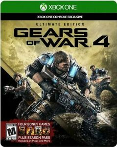 Gears of War 4 Unopened Cambridge Kitchener Area image 1