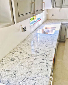HIGH quality Quartz countertop with LOW Price in HUGE selection!
