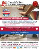SALE UP TO 50% OFF*** Canada's Best Flooring and Installations