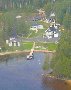 Home 114' on Minisinakwa lake in Gogama on 0.8 acre lot