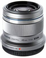 Olympus 45mm f1.8 prime lens for m43