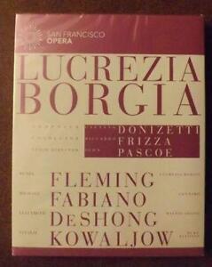 San Francisco Opera Lucrezia Borgia