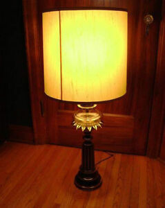 Vintage Stiffel Brass Lamps with glass reservoir (price is each)