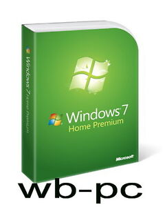 MS Windows 7 Home Premium 64 Bit Vollversion Multilanguage,u.a.Deutsch,English..