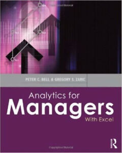 Analytics for Managers: With Excel  by Peter C. Bell (Author)