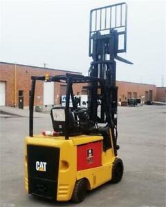 Caterpillar EC30N2 Electric Forklift  6000 lbs, Lift truck