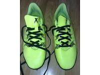 YELLOW ADIDAS FOOTBALL BOOTS