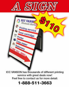 HUNDREDS OF PRINTING ITEMS FROM ICC!