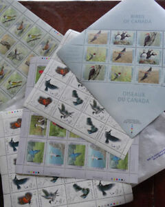 CANADIAN STAMPS- NEW, UNUSED; FACE VALUE $350.+