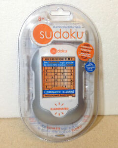 **NEW** Techno Source Illuminated Sudoku handheld game Cambridge Kitchener Area image 1