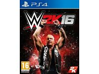 Wanted wwe 2k16 for PS4