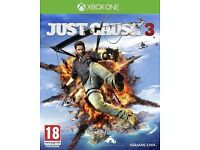 Just cause 3 on xbox one in good condition