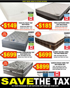 TWIN, DOUBLE QUEEN MATTRESSES ON SALE