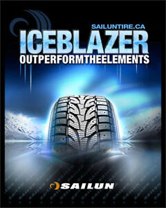 "WINTER TIRE NEW STARTING FROM 14""$49---15""$55---16""$69---17""$75"