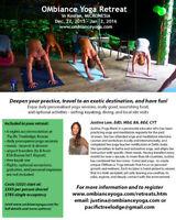 OMbiance Yoga Retreat - Micronesia, Dec. 27-Jan 2