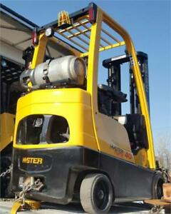 Forklift S50FT Propane 5000 Lbs Hyster Used Lift truck sold