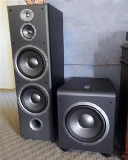 JBL Home theatre, subwoofer, av receiver, speakers, 7.2