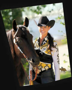 Gorgeous Showtime Vest and Matching Slinky & saddle pad, size 2
