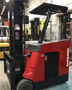 Chariot elevateur Raymond Forklift electric 3500 Lbs Liquidation