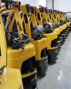 Forklift S50FT Propane 5000 Lbs Hyster Used