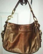 Coach Zoe Leather Handbag