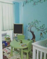 Home daycare services in loving home, Immediate spots available.