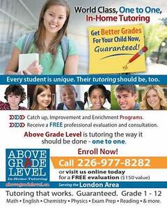 """Above Grade Level"" London,  In-Home Tutoring London Ontario image 3"