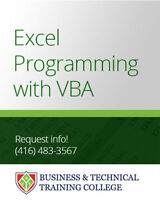 Excel Programming with VBA Course